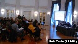 Konferencija za novinare povodom najave otkaza, foto: Enis Zebić