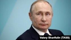 Ruski predsjednik Vladimir Putin tokom sastanka sa studentima u Sočiju