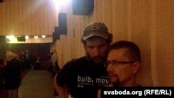 Януш Гаўрылюк і Пэтрэк Дудановіч на кінафэстывалі
