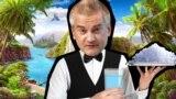 Підконтрольний Росії «глава» Криму Сергій Аксьонов. Фотоколаж