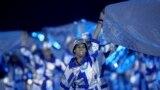 Олимпиаданың ашылу салтанатындағы қойылым. Шараға 3 мыңға жуық ерікті және актерлер қатысты.