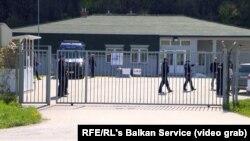 Centar za zadržavanje stranaca u Vranom Dolu kod Prištine gde su u aprilu 2019. smešteni kosovski državljani koji su vraćeni iz Sirije