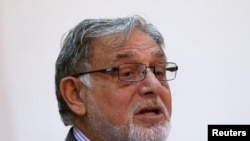 Ahmad Yusuf Nuristani, Chairman of Independent Election Commission of Afghanistan.