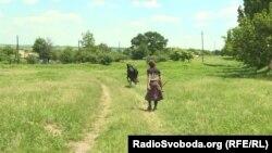 Валентина Яківна та її корова