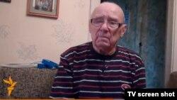 Выживший в годы Голодомора Григорий Симак.