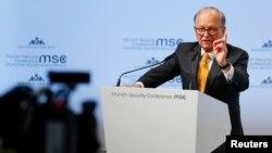 Wolfgang Ischinger la Conferința de securitate de la Munchen