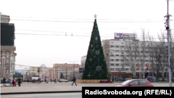 «Главная» елка оккупированного Донецка