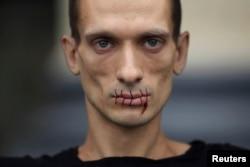 Петр Павленский, 23 июля 2012 года