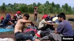 Европадагы мигранттар.
