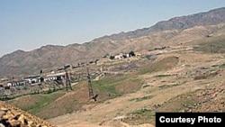 Тәжікстанның Табошар аймағындағы жабылып қалған уран кеніші.