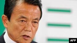 Ministri i financave të Japonisë, Taro Aso (ilustrim)