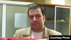 Таджикский журналист Хайрулло Мирсаидов.