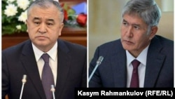 Өмүрбек Текебаев жана Алмазбек Атамбаев