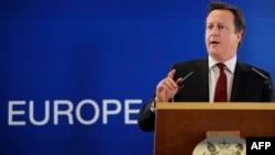 Britaniya baş naziri David Cameron