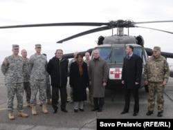 SAD poslale helikoptere Black Hawk, 22. februar 2012.