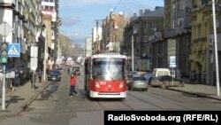Трамвай маршрута №1