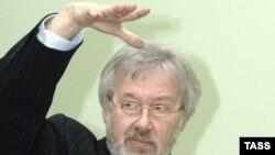 Владимир Эммануилович Рецептер, руководитель Государственного Пушкинского театрального центра в Санкт-Петербурге