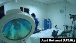 غرفة العمليات في مركز روناكي لمعالجة العقم