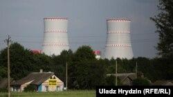 Будоўля Беларускай АЭС у Астраўцы