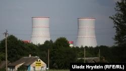 Беларуская АЭС у Астраўцы, архіўнае фота