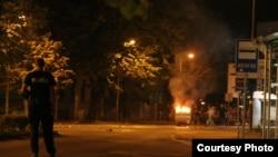 Neredi u Mostaru nakon meča Hrvatske i Španije na Euru, juni 2012.