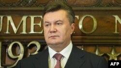 Украина президенті Виктор Янукович.