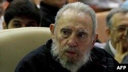 Фидель Кастро на заседании Национальной ассамблеи в феврале 2013 года, Гавана.