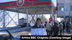 Martie 2006. Tiraspolul a învinuit Chişinăul şi Kievul că ar bloca economic regiunea transnistreană
