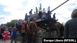 La Tiraspol de Ziua Victoriei