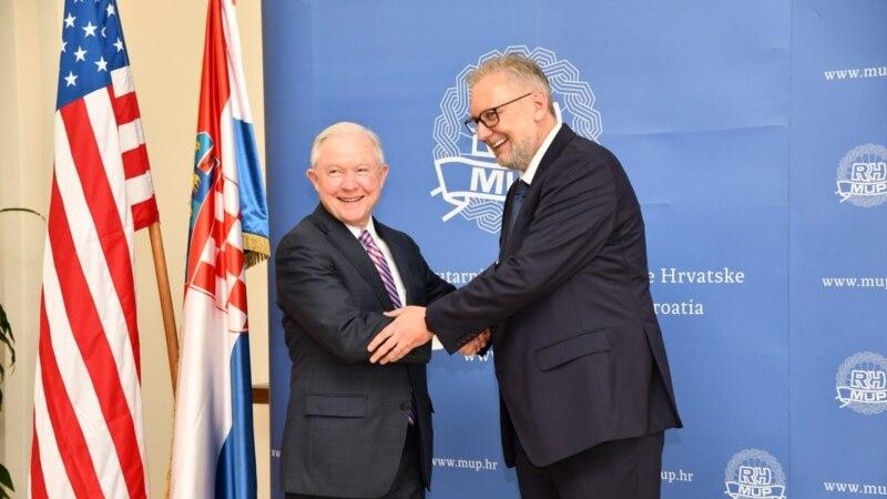 Sessions u Zagrebu: Partnerstvo donosi plodove