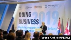 Презентация отчета Doing Business Всемирного банка. Белград, 31 октября 2018 года.