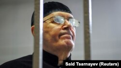 Оюб Титиев, глава грозненского отделения российского правозащитного центра «Мемориал», на оглашении приговора по его делу. Шали, 18 марта 2019 года.