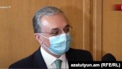 Министр иностранных дел Армении Зограб Мнацаканян, 11 июня 2020 г.