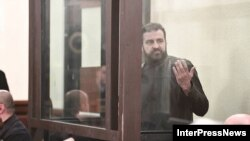 Тамаз (Гега) Гегешидзе в зале суда