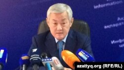 Аким Актюбинской области Бердибек Сапарбаев.