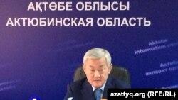 Бердібек Сапарбаев, Ақтөбе облысының әкімі.