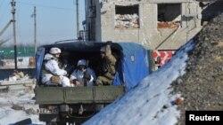 Ուկրաինա - Ուկրաինական բանակի զինծառայողները Ավդիիվկայում, փետրվար, 2017թ․
