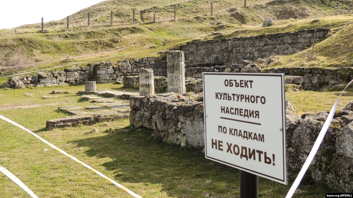 Мінкульт і МЗС України готують реакцію щодо стану античного Пантікапея в окупованій Керчі