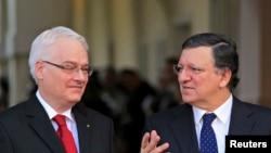 Ivo Josipović i Jose manuel Barroso