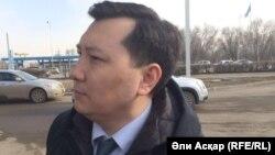Қайрат Бекенов, Ақтөбе облысы әкімінің орынбасары. 10 сәуір 2017 жыл.