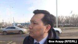 Заместитель акима Актюбинской области Кайрат Бекенов. Актобе, 10 апреля 2017 года.