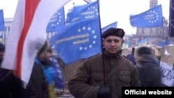 Міхаіл Жызьнеўскі на Эўрамайдане