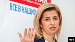 Irina Vlah, bașcanul Autonomiei găgăuze (foto arhivă)
