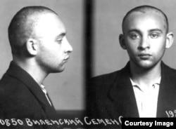 Семен Виленский, фото из Лубянской тюрьмы, 1948 год