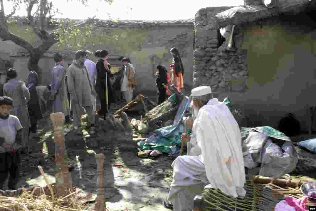 Жер титирөөдөн кийин. Пакистан, Кичи Дире аймагы
