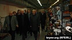 Директор заводу «Фіолент» Олександр Баталін, 2010 рік