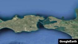 Керченский пролив. Иллюстрация