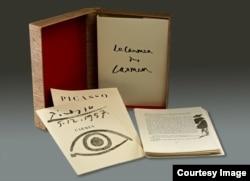 Пабло Пикассо. Дон Кихот. Livre d'artiste