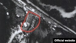 Lokacioni i dyshuar në Rashkë.