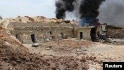 Napad na militante u Siriji